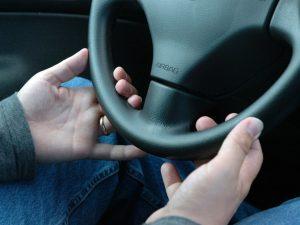 Att lära sig köra bil